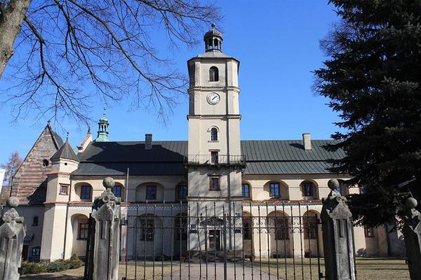 Вонхоцкое аббатство. Польша. Вонхоцк.