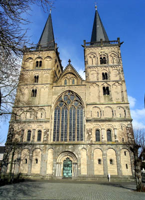 Ксантенский собор. Ксантен. Германия