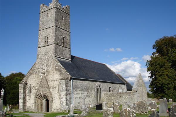 Клонфетрский собор. Ирландия. Клонферт.