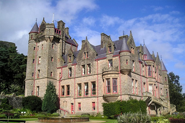 Замок Белфаст. Белфаст. Великобритания