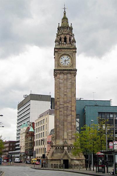 Мемориал Альберта. Белфаст. Великобритания