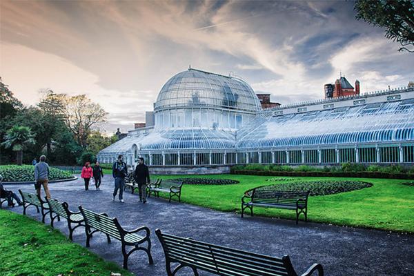 Ботанический сад. Белфаст. Великобритания